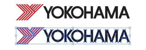 横浜ゴム株式会社のロゴ ヨコハマタイヤ