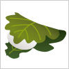 端午の節句の供物として使用される柏餅のイラスト