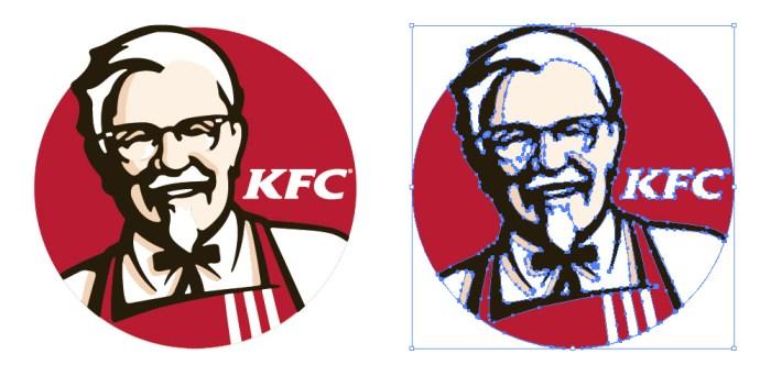 ケンタッキーフライドチキン(KFC)のロゴマーク