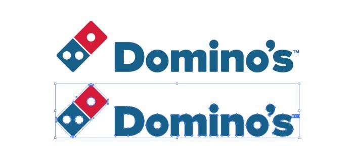 ドミノ・ピザ(Domino's Pizza)のロゴマーク