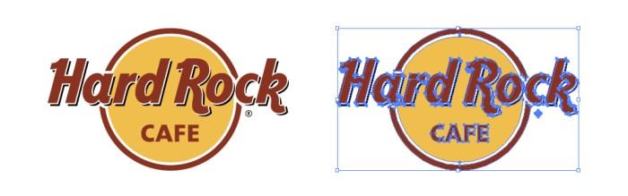 ハードロックカフェ(Hard Rock Cafe)のロゴマーク