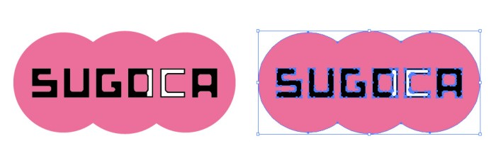 SUGOCA(スゴカ)のロゴマーク