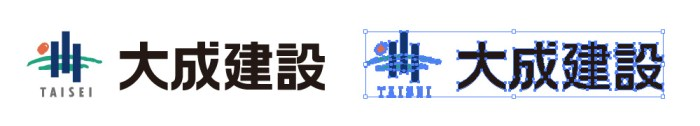大成建設のロゴマーク