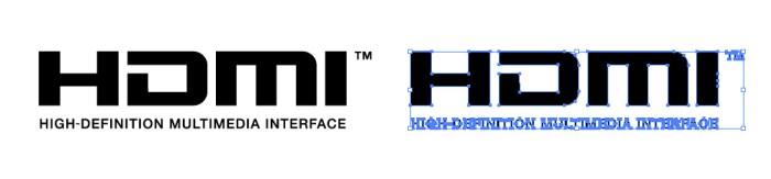 HDMI(エイチ ディー エム アイ)のロゴマーク