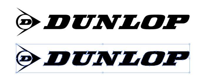 ダンロップ・タイヤ(DUNLOP)のロゴマーク