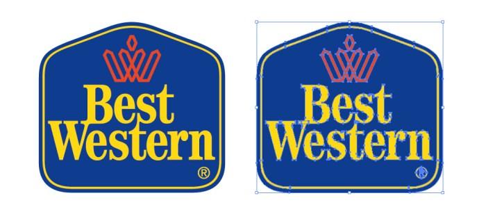 ベストウエスタンホテル(BEST WESTERN)のロゴマーク