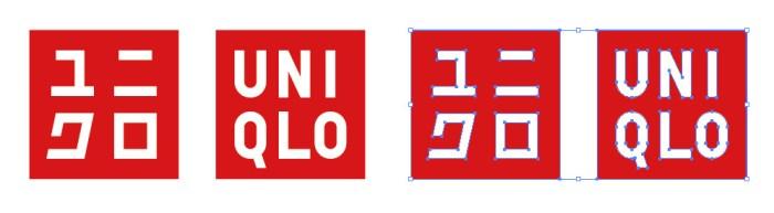 UNIQLO(ユニクロ)のロゴマーク