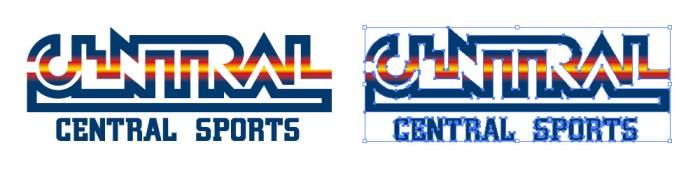 セントラルスポーツ(Central Sports)のロゴマーク