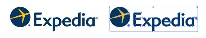 エクスペディア(Expedia)のロゴマーク