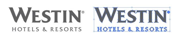 ウェスティン・ホテルズ&リゾーツのロゴマーク