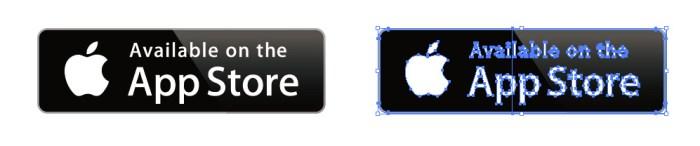 AppStore(アップストア)のロゴアイコンマーク