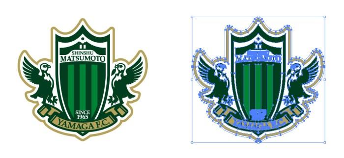 松本山雅FC(Jリーグ)のロゴマーク
