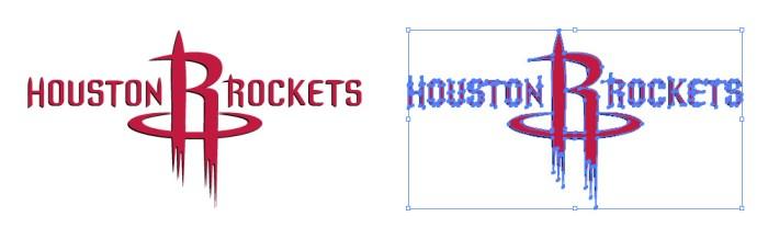ヒューストン・ロケッツのロゴマークです