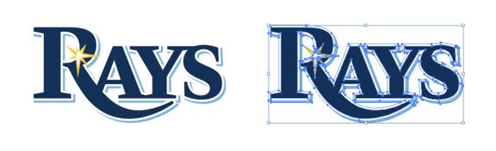 タンパベイ・レイズ(Tampa Bay Rays)のロゴマーク