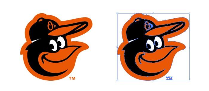 ボルチモア・オリオールズ(Baltimore Orioles)のロゴマーク