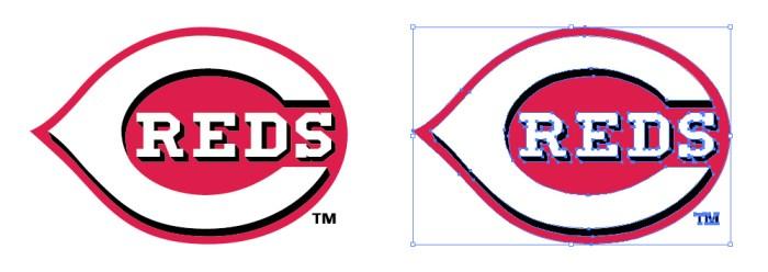 シンシナティ・レッズ(Cincinnati Reds)のロゴマーク
