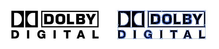 ドルビーラボラトリーズ(Dolby Laboratories)のロゴマーク