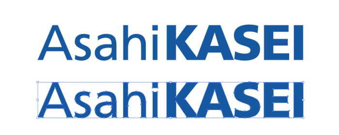 旭化成(Asahi KASEI)のロゴマ...