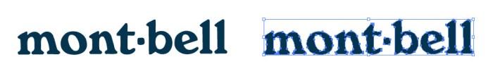 モンベル(Montbell)のロゴマーク