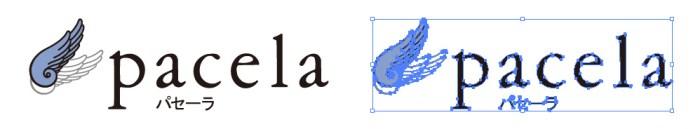 パセーラ(pacela)のロゴマーク
