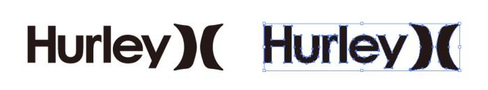 ハーレー(Hurley)のロゴマーク
