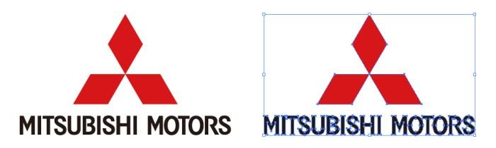 三菱自動車(MITSUBISHI MOTORS)のロゴマーク