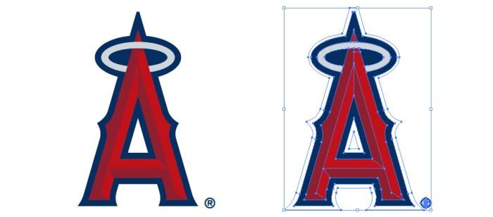 ロサンゼルス・エンゼルス・オブ・アナハイム(Los Angeles Angels of Anaheim)のロゴマーク