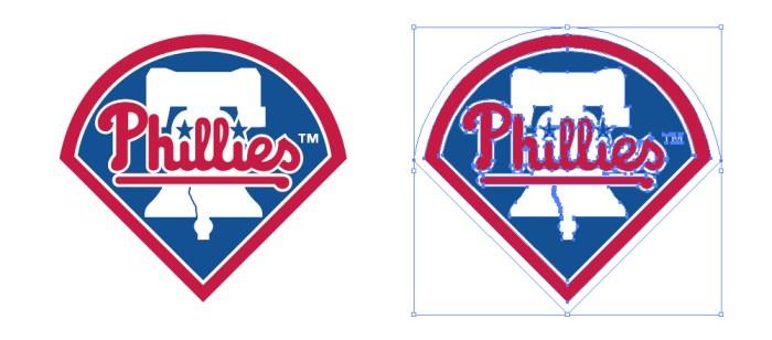 フィラデルフィア・フィリーズ(Philadelphia Phillies)のロゴマーク