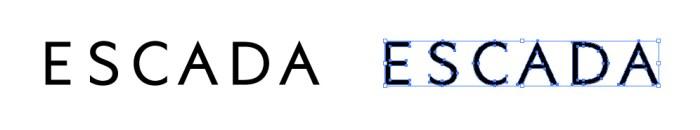 エスカーダ(ESCADA)のロゴマーク