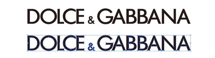 ドルチェ&ガッバーナ(DOLCE & GABBANA)のロゴマーク