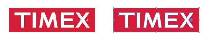 タイメックス(TIMEX)のロゴマーク