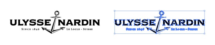 ユリス ナルダン(ULYSSE NARDIN)のロゴマーク