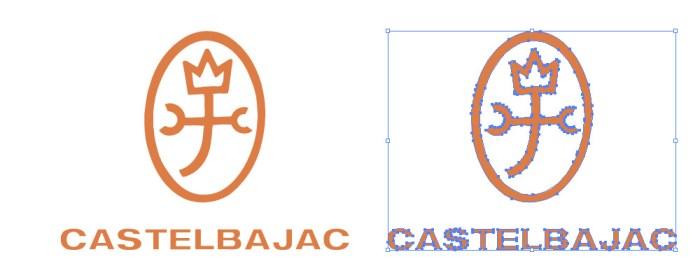 カステルバジャック(CASTELBAJAC)のロゴマーク