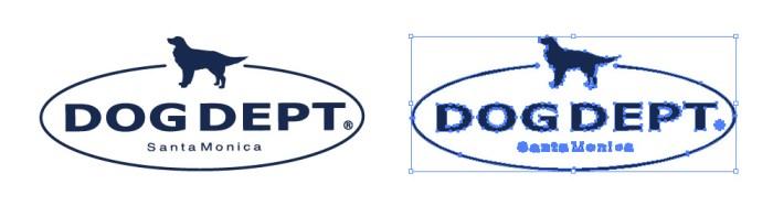 ドッグデプト(DOG DEPT)のロゴマーク