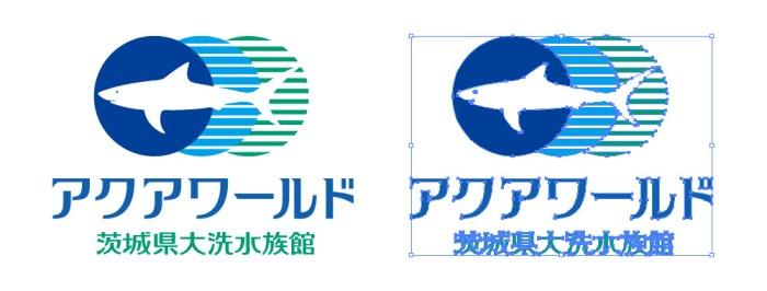 大洗水族館のロゴマーク