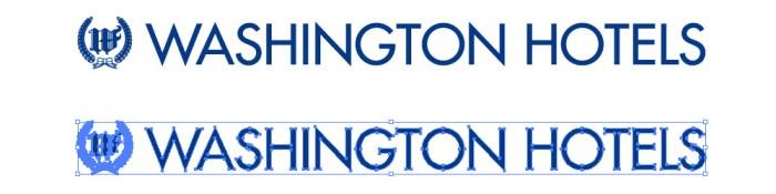ワシントンホテル(Washington Hotel)のロゴマーク