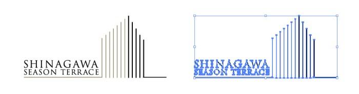 品川シーズンテラスのロゴマーク