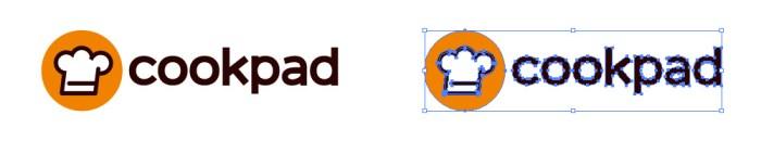 クックパッド(cookpad)のロゴマーク