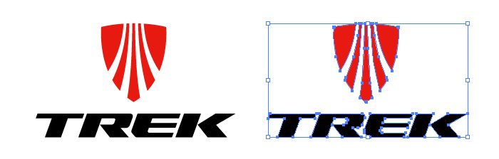 トレック・バイシクル(TREK)のロゴマーク