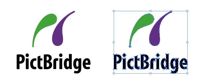 PictBridge (ピクトブリッジ)のロゴマーク