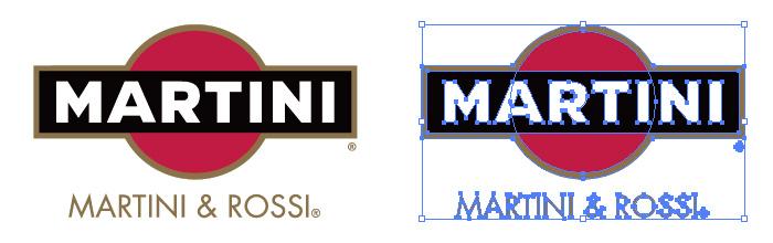マルティーニ・エ・ロッシ(Martini & Rossi)のロゴマーク