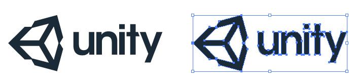 Unity(ユニティ)のロゴマーク