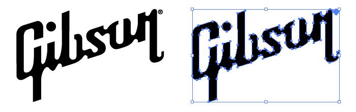 ギブソン(Gibson)のロゴマーク