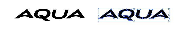 アクア(AQUA)のロゴマーク