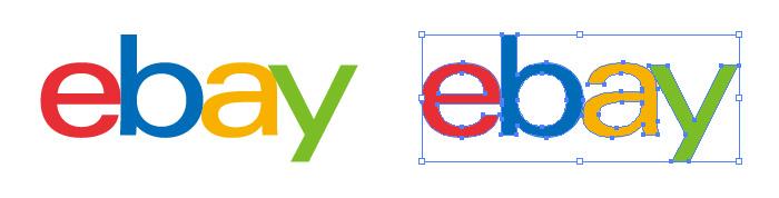 eBay(イーベイ)のロゴマーク