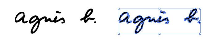アニエス・ベー(Agnes b)のロゴマーク