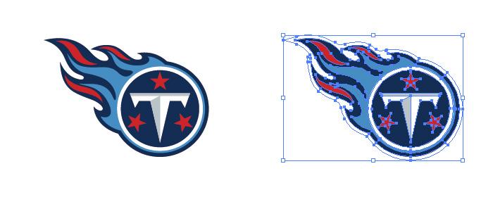 テネシー・タイタンズ(Tennessee Titans)のロゴマーク