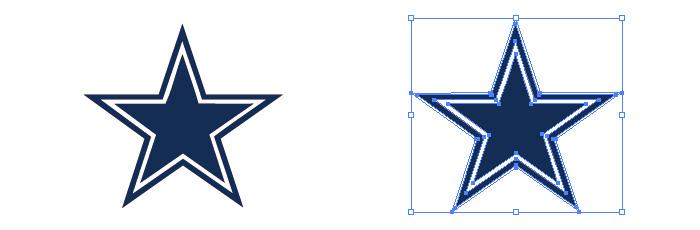 ダラス・カウボーイズ(Dallas Cowboys)のロゴマーク