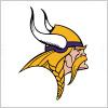 ミネソタ・バイキングス(Minnesota Vikings)のロゴマーク