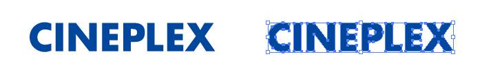 シネプレックス(CINEPLEX)のロゴマーク